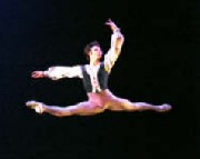 Anthony Krutzkamp of Cincinnati Ballet will appear as Lucien in Paquita